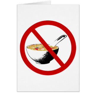 ban shark fin soup card