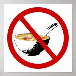 ban shark fin soup poster