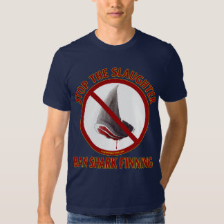 Ban Shark Finning Dark T-shirt