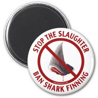 Ban Shark Finning Magnet