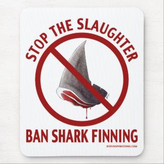 Ban Shark Finning Mousepad