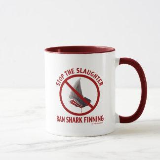 Ban Shark Finning Mug