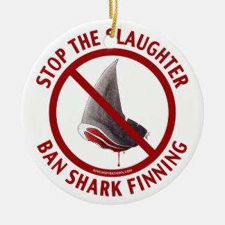 Ban Shark Finning Ornament