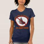 Ban Shark Finning Women's Dark T-shirt