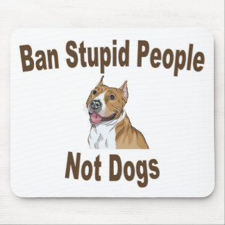 Ban Stupid People Notebook Mouse Pad