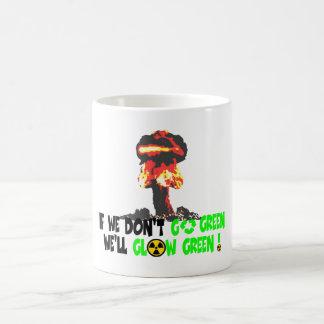 Ban the bomb coffee mug