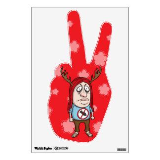 Ban the Bomb Hippie Room Graphic