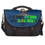 Ban the bomb laptop bags