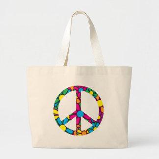 Ban The Bomb Large Tote Bag