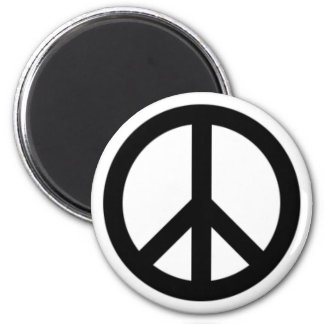 Ban the Bomb 2 Inch Round Magnet