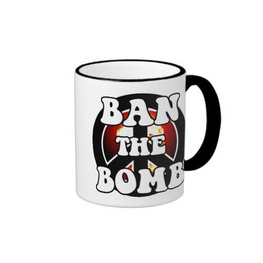 Ban The Bomb Mug