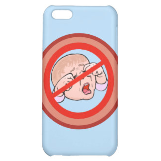 Ban the Brat No kids allowed Cover For iPhone 5C