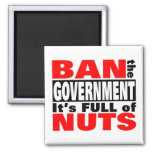 Ban The GOVERNMENT Magnets