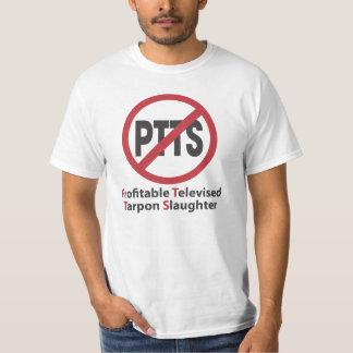 Ban the Profitable Televised Tarpon Slaughter T-Shirt
