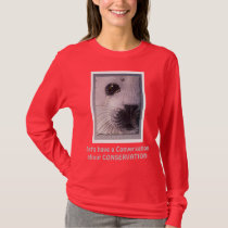 BAN THE SEAL HUNT Harp Seal Wildlife Supporter T-Shirt