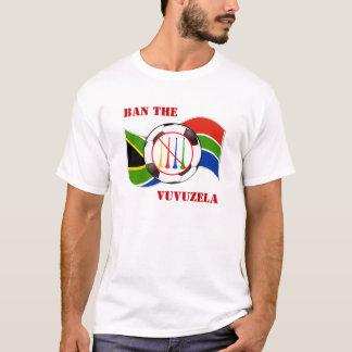Ban the Vuvuzela 2010 World Cup Soccer T-Shirt