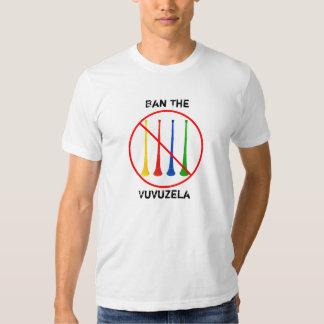 Ban the Vuvuzela 2010 World Cup Soccer Tee Shirt