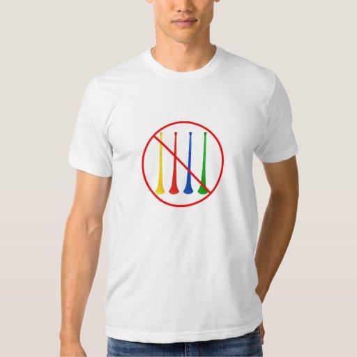 Ban the Vuvuzela 2014 World Cup Soccer T-Shirt
