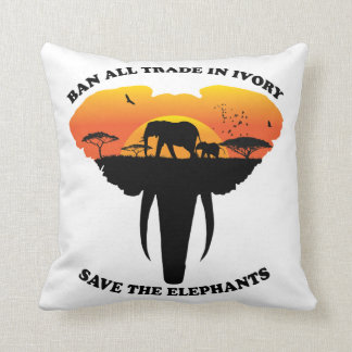 Ban trade ivory Pillow