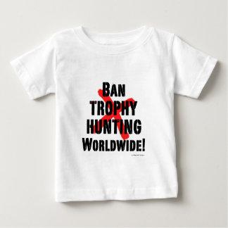 Ban Trophy Hunting Baby T-Shirt