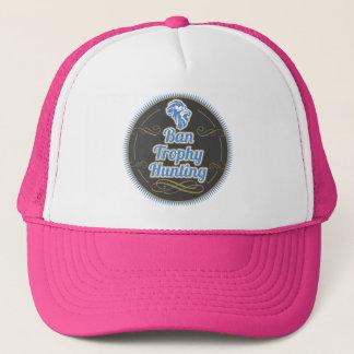 Ban Trophy Hunting Trucker Hat