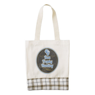 Ban Trophy Hunting Zazzle HEART Tote Bag
