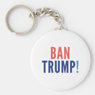 Ban Trump! Keychain