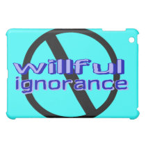Ban Willful Ignorance iPad Case