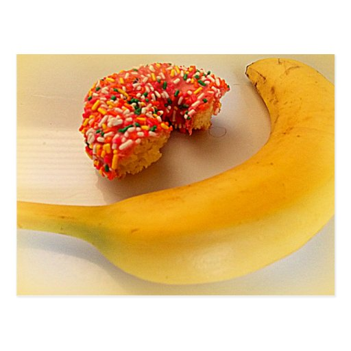 banana and donut CARD