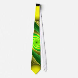 Banana and Kiwi Neck Tie