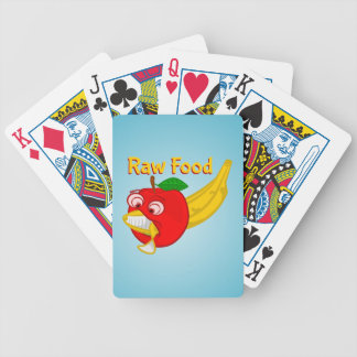 BANANA APPPLE OSTEOPATH zazzle background.PNG Bicycle Playing Cards