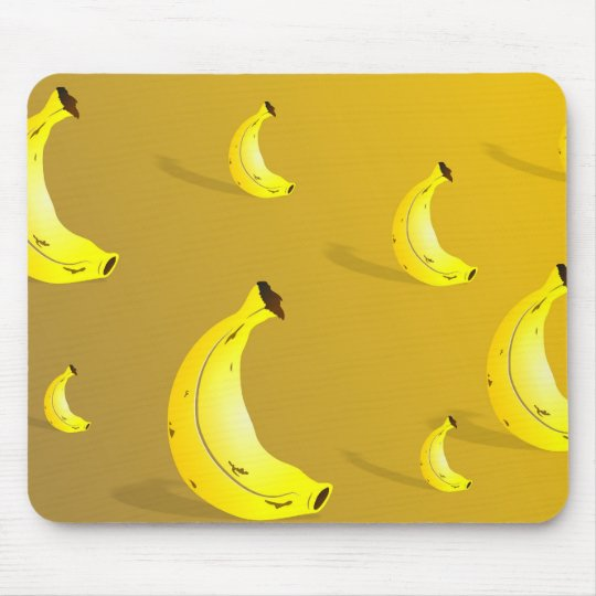 Banana Background Mouse Pad