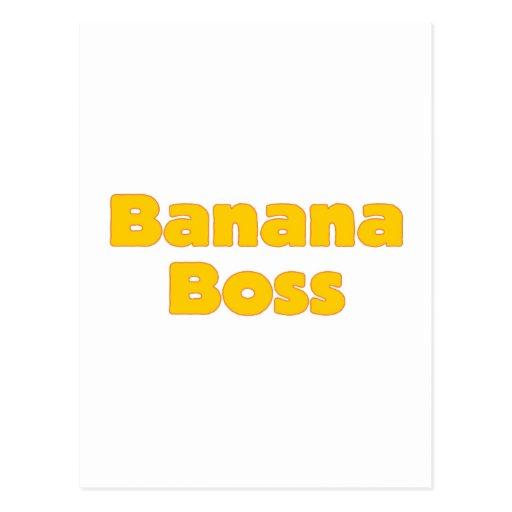 Banana boss postal