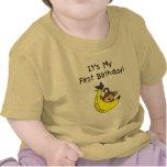 Banana - Boy Monkey 1st Birthday T-shirt
