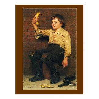 Banana Boy Postcard