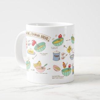 Banana Bread Bakers Mug