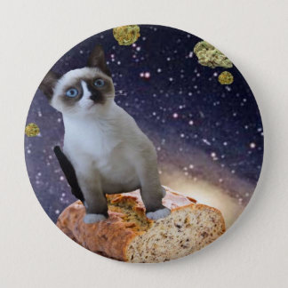 banana bread kat pinback button