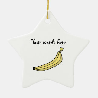 Banana Ceramic Ornament