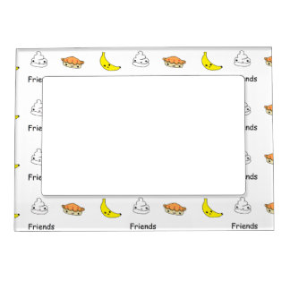 Banana Cream Pie Friends Magnetic Frame