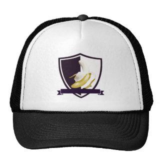 Banana Crest Insignia Mesh Hats