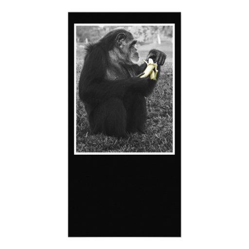 Banana Customized Photo Card