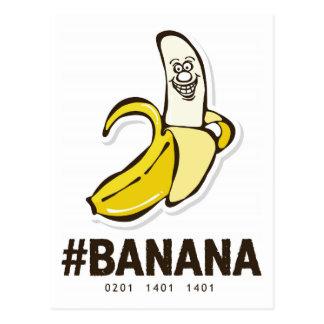 Banana (dark chocolate) *Postcard Postcard