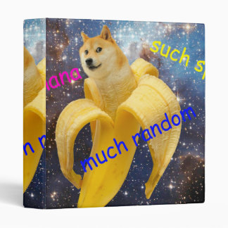 banana   - doge - shibe - space - wow doge binder