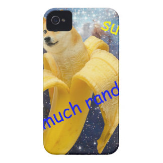 banana   - doge - shibe - space - wow doge iPhone 4 Case-Mate case