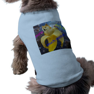 banana   - doge - shibe - space - wow doge shirt