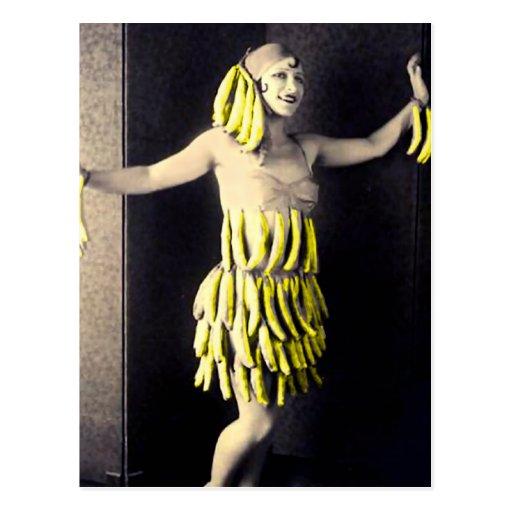 Banana Dress Post Card