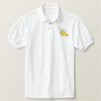Banana Embroidered Polo Shirt