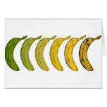 Banana Evolution Greeting Card