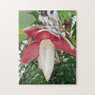 Banana Flower Jigsaw Puzzle