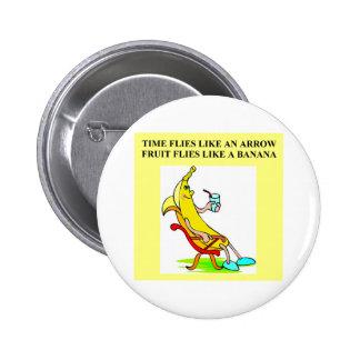 BANANA food joke Pin